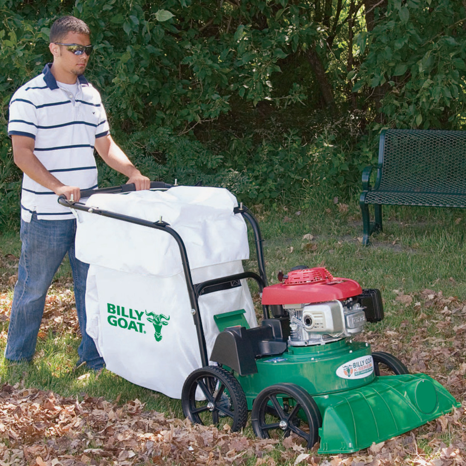 Leaf Vac Billygoat 2