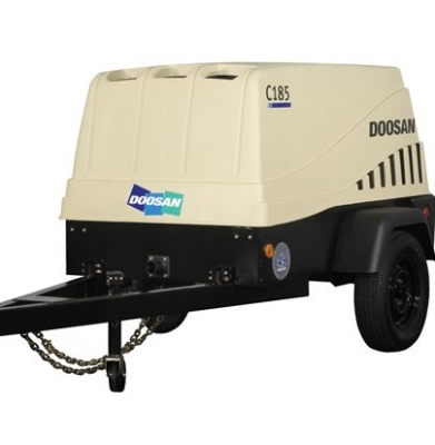 Air Compressor – 185 CFM Towable