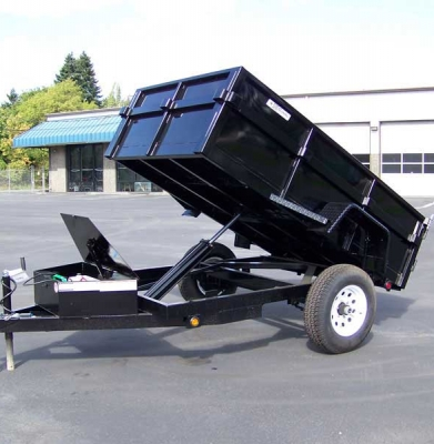 Trailer – Dump 3,500 lb. Load Capacity
