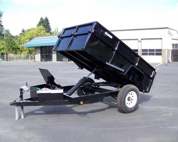 Trailer – Dump 3,500 lb. Load Capacity