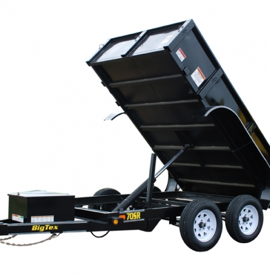 Trailer – 4 Yard Heavy Duty Dump With Ramp Kit