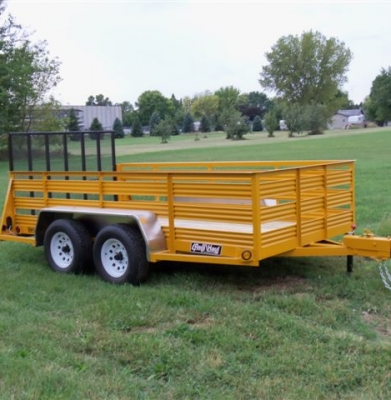 Trailer – 5 X 12 Open Top Utility