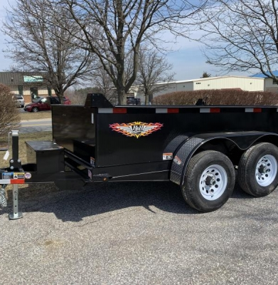 Trailer – Dump 7,500 lb. Load Capacity