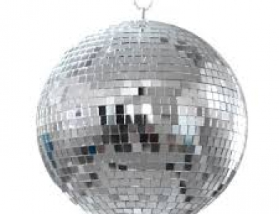 Disco Ball 16″ With Spotlights