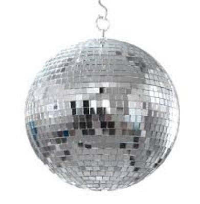 Disco Ball 16″ With Spotlights
