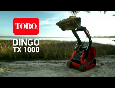 Bobcat – Walk Behind Dingo TX1000 Ride On