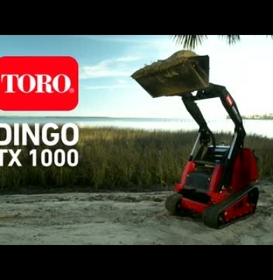 Bobcat – Walk Behind Dingo TX1000 Ride On
