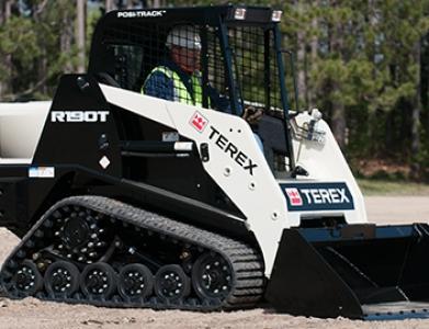 Bobcat – Terex R190T Track Machine W/Bucket.   (Trailer Additional)