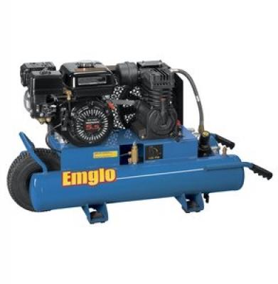 Air Compressor 8 H.P. Gas Portable