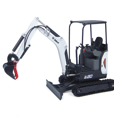 Bobcat E20 – Mini Excavator 8′  With Thumb. (Trailer Additional)