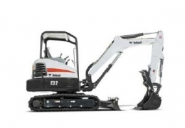 Bobcat E32 – Backhoe 10′ W/Thumb.   (Trailer Additional)