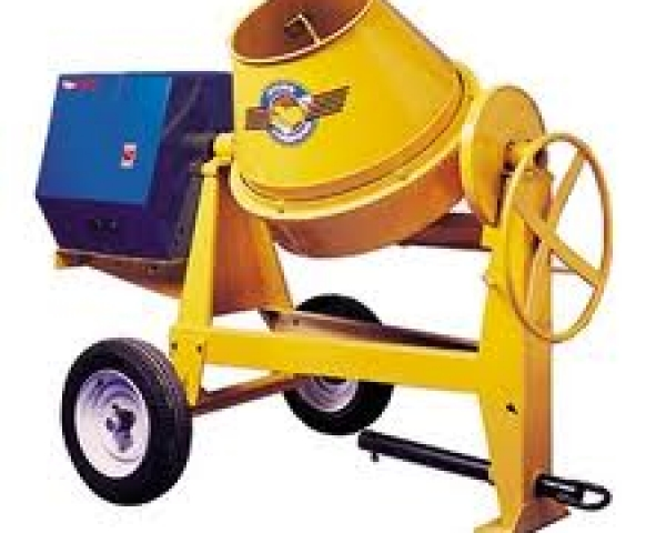 Concrete Mixer – 6 Cu. Ft. Gas Towable