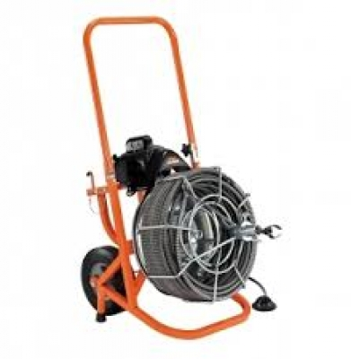 Sewer Auger – 75′ Electric Manual Feed