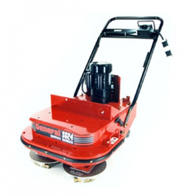 Dual Head Electric Floor Stripper/Grinder