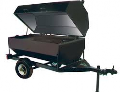 Tow Behind Propane Flat Grate Grill