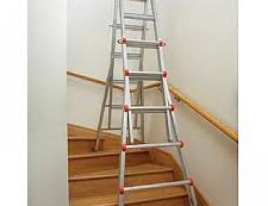 Little Giant Ladder – 9′ to 17′ Adjustable