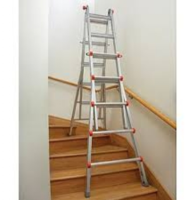 Little Giant Ladder – 9′ to 17′ Adjustable