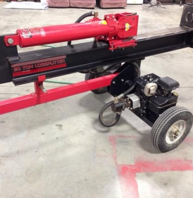 Log Splitter – 20 Ton Horizontal Only