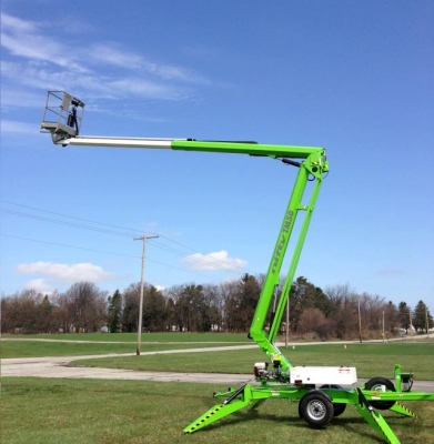Tow Behind Boom Lift 50′
