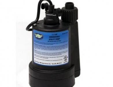 Pump – 1″ Submersible Garden Hose