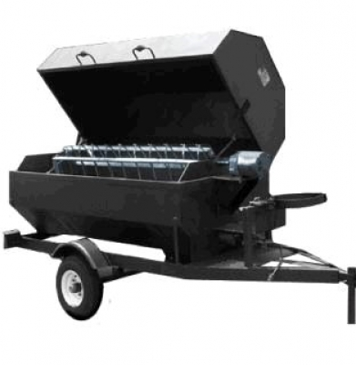 Tow Behind Propane Rotisserie Pig Roaster/Grill