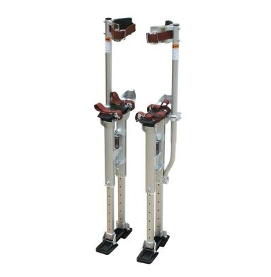 Stilts – Drywall   18″ to 30″  or  24″ to 40″
