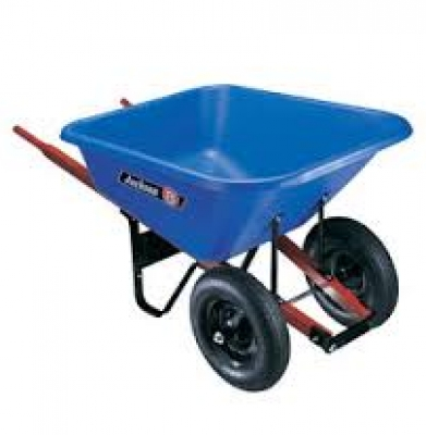 Wheel Barrow – 8 Cu.Ft. Poly